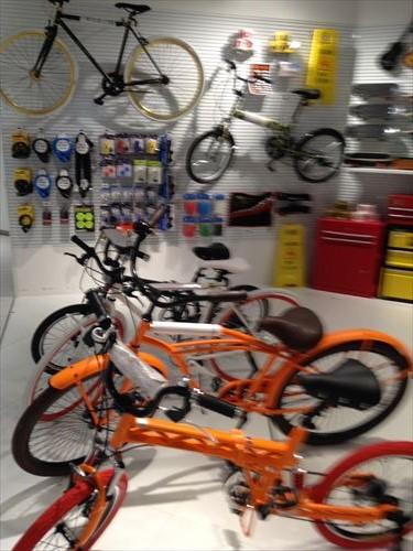 雑貨店「ASOKO」NU茶屋町店・自転車