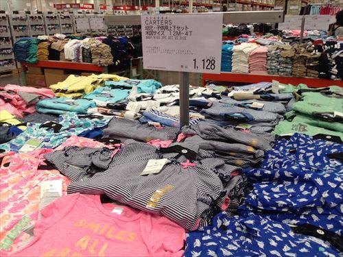 コストコ和泉倉庫店で売っている幼児用品・子供服