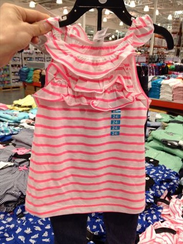 コストコ和泉倉庫店で売っている幼児用品・おもちゃカーターズの幼児服