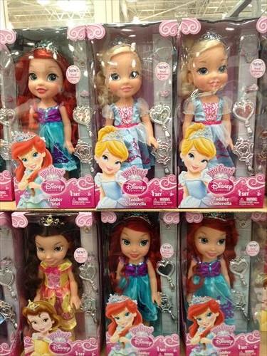 コストコ和泉倉庫店で売っている幼児用品・おもちゃプリティプリンセス人形