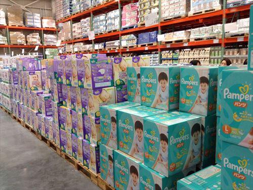 コストコ和泉倉庫店で売っている幼児用品・おもちゃ・紙オムツセット