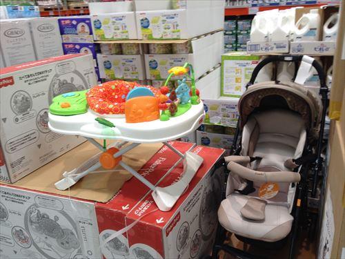コストコ和泉倉庫店で売っている幼児用品