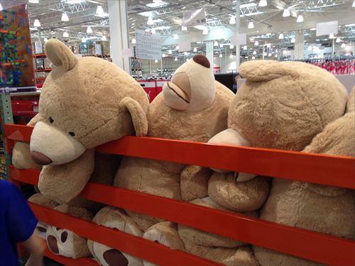 コストコ和泉倉庫店で売っている幼児用品・おもちゃ特大ぬいぐるみ