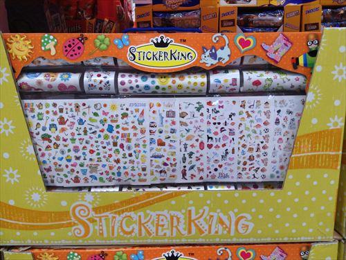 コストコ和泉倉庫店で売っている幼児用品・おもちゃ・シールセット