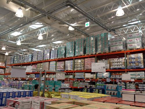 コストコ和泉倉庫店で売っている幼児用品・紙オムツコーナー