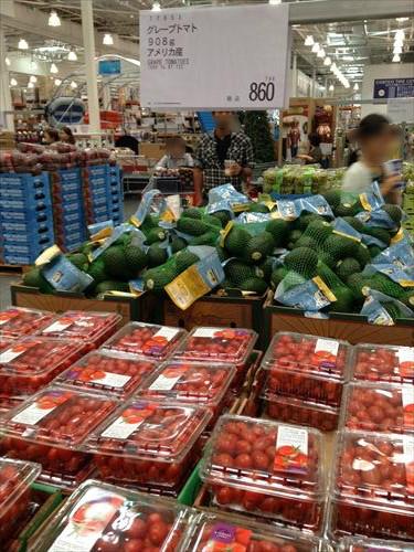 コストコ和泉倉庫店(1日特別招待券)野菜売り場