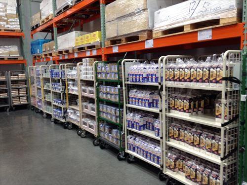 コストコ和泉倉庫店(1日特別招待券)乳製品