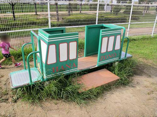 花園中央公園の大型遊具・乗り物