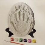 フライングタイガー「石こう手形セット」