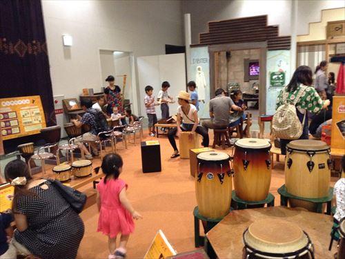 キッズプラザ大阪・民族楽器