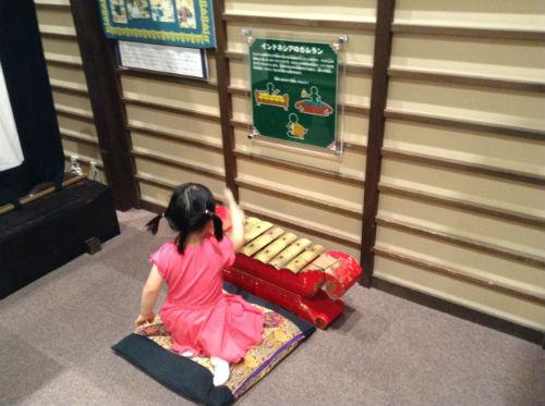 キッズプラザ大阪・打楽器コーナー