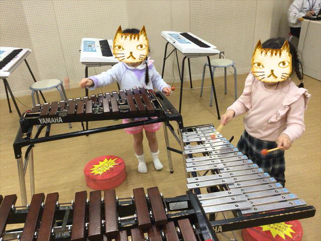 「こべっこランド」木琴と鉄筋