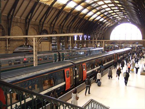 ロンドン・キングスクロス駅