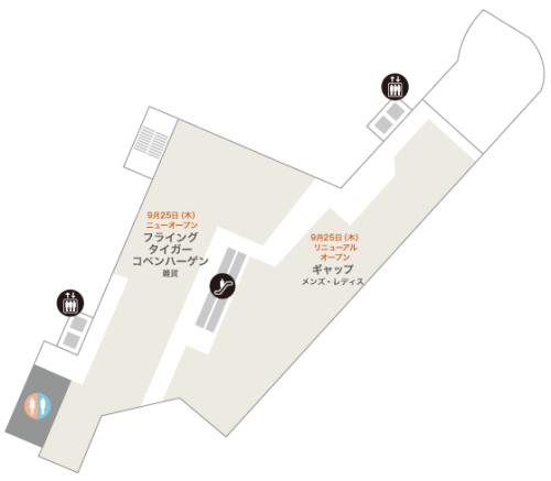 町田東急ツインズ・ウエスト館4階フロアーマップ