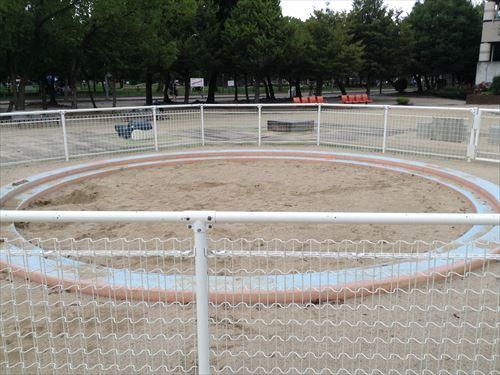 長居公園内遊具公園(遊戯広場)砂場