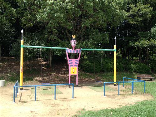 大泉緑地大型遊具公園①「わんぱくランド」ブランコ