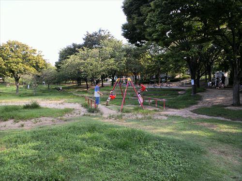 八幡屋公園・ブランコ