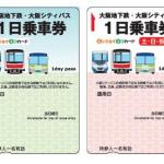 大阪メトロ1日乗車券「エンジョイエコカード」(平日用・土日祝日用)