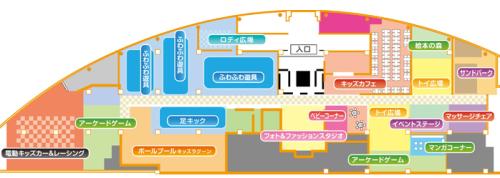 ピュアハートキッズランド伏見桃山フロアーマップ
