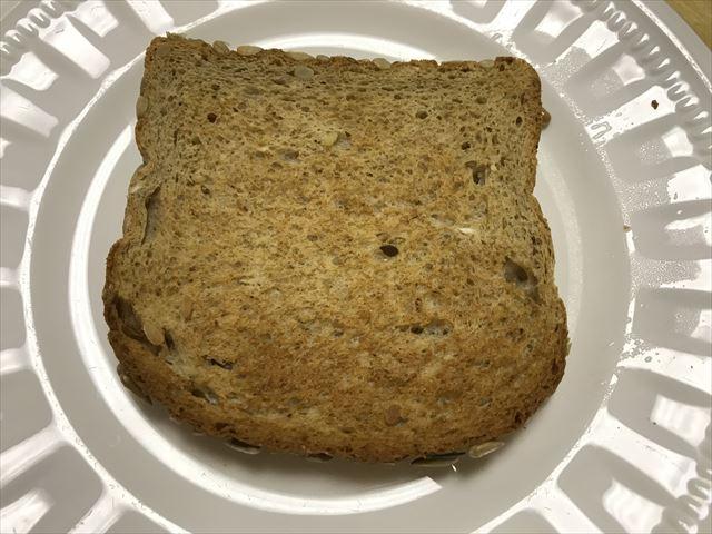 コストコの有機食パン「Organic Multi Grain with OMEGA-3」をトーストした様子