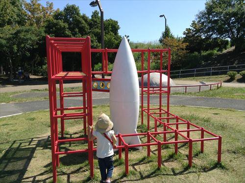 深北緑地・ロケット広場・ロケットジャングルジム