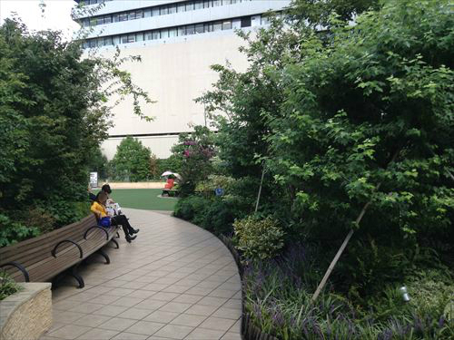 阪急百貨店梅田本店の屋上庭園