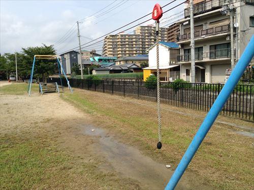 服部緑地・いなり山児童遊戯場・ターザン