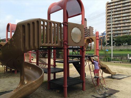 服部緑地・いなり山児童遊戯場・遊具大