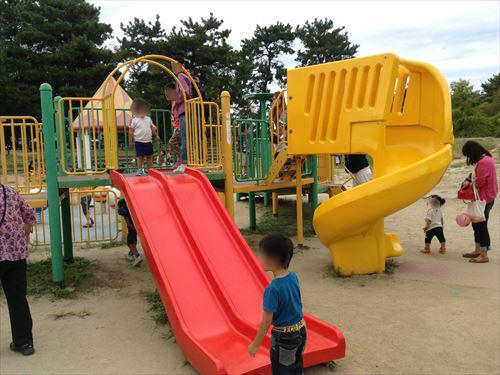 服部緑地・こどもの楽園・幼児向け遊具