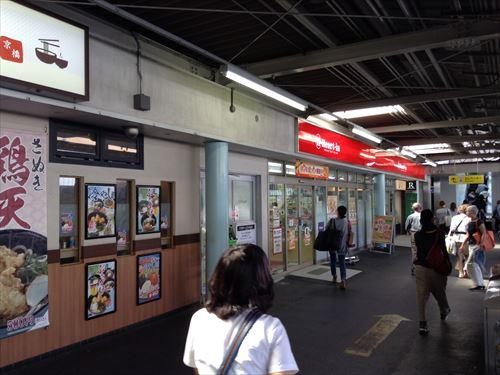JR東西線(学研都市線)1番乗り場・大阪尼崎方面行きホーム