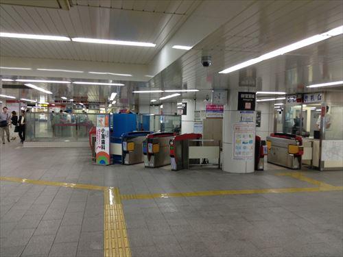 地下鉄御堂筋線なんば駅
