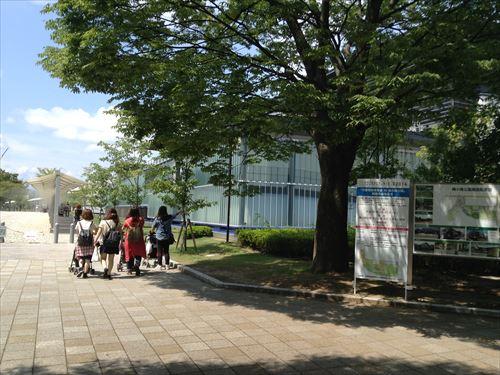 梅小路公園入口