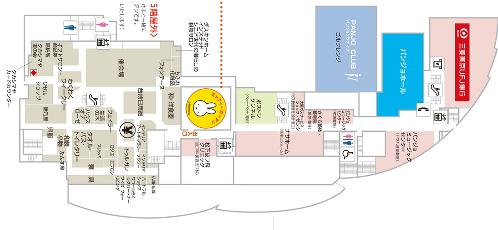 パンジョ5階フロアーマップ