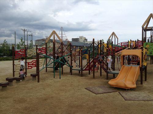 梅小路公園すざくゆめ広場・幼児向け遊具