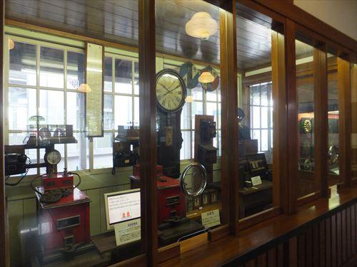 梅小路蒸気機関車館・時計など