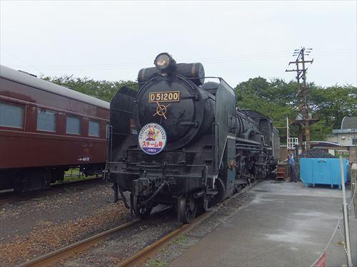梅小路蒸気機関車館・SLスチーム号