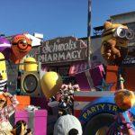 USJハロウィン「フェスタデパレード」の様子、ミニオンズのゴンドラ
