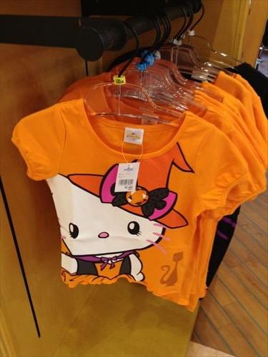 USJハロウィングッズキティTシャツ