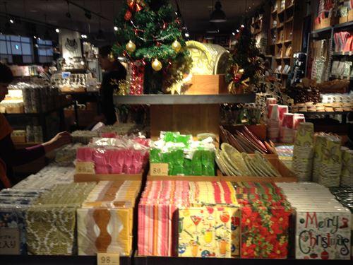 オーサムストアのクリスマスグッズ・紙ナプキン
