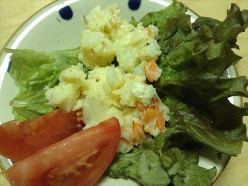 ビオマルシェの野菜サラダ