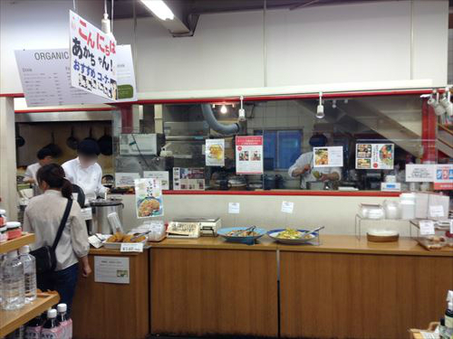 クレヨンハウス大阪店・1階・オーガニックデリ