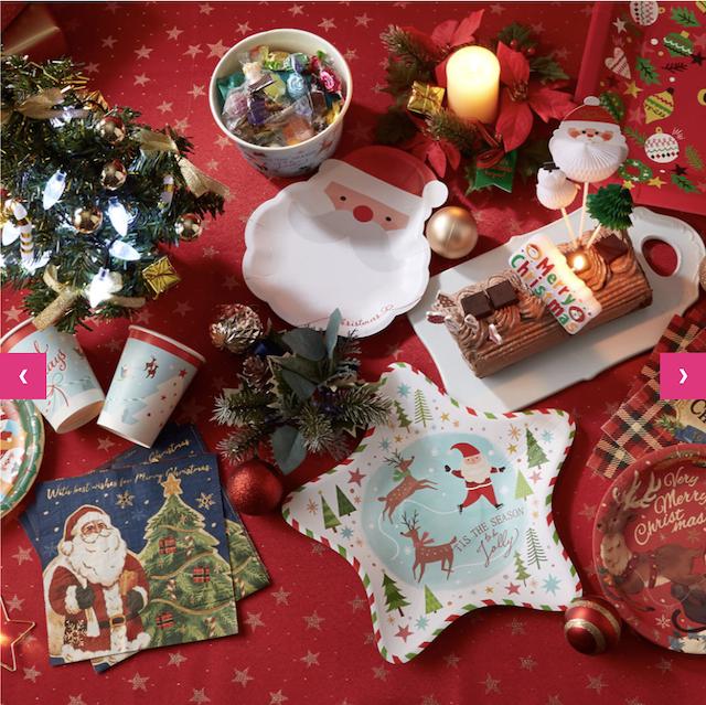 ダイソークリスマスグッズ2019年新作・サンタの紙コップや紙ナプキンなど