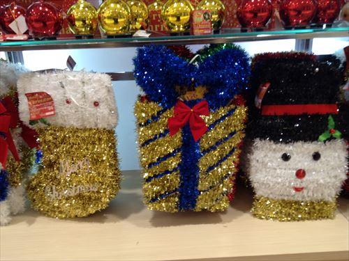 ダイソーのクリスマスグッズ・部屋の飾りつけ