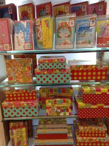 ダイソーのクリスマスグッズ・クリスマスパーティー・プレゼントボックス