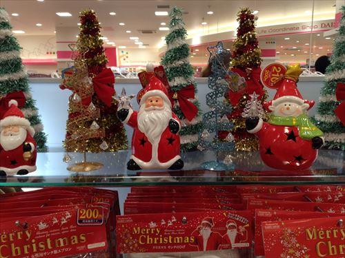 ダイソーのクリスマスグッズ・クリスマスツリー
