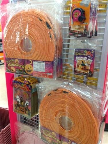 ダイソーのハロウィングッズ・かぼちゃ提灯