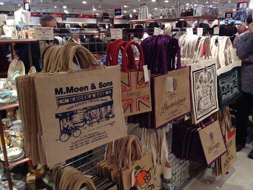阪急百貨店・英国フェア2014・エコバッグ