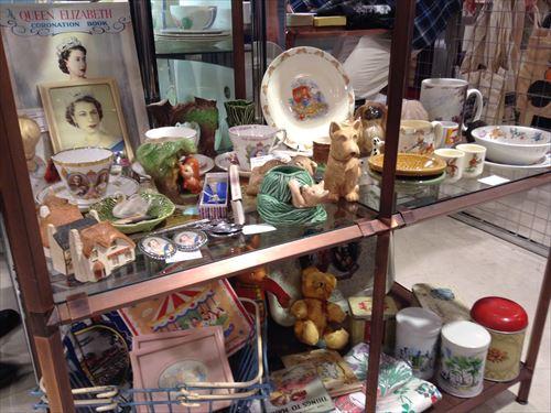 阪急百貨店・英国フェア2014・ヴィンテージ小物