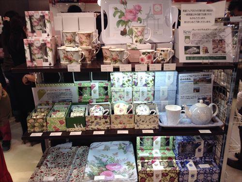 阪急百貨店・英国フェア2014・