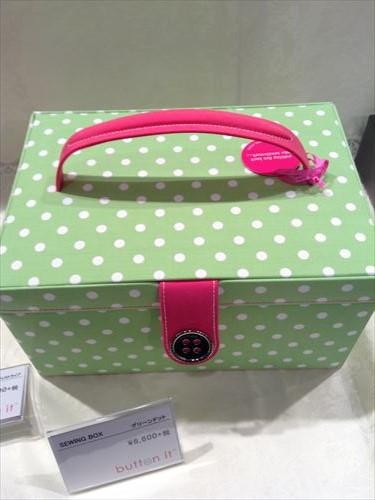 阪急百貨店・英国フェア2014・ソーイングボックス
